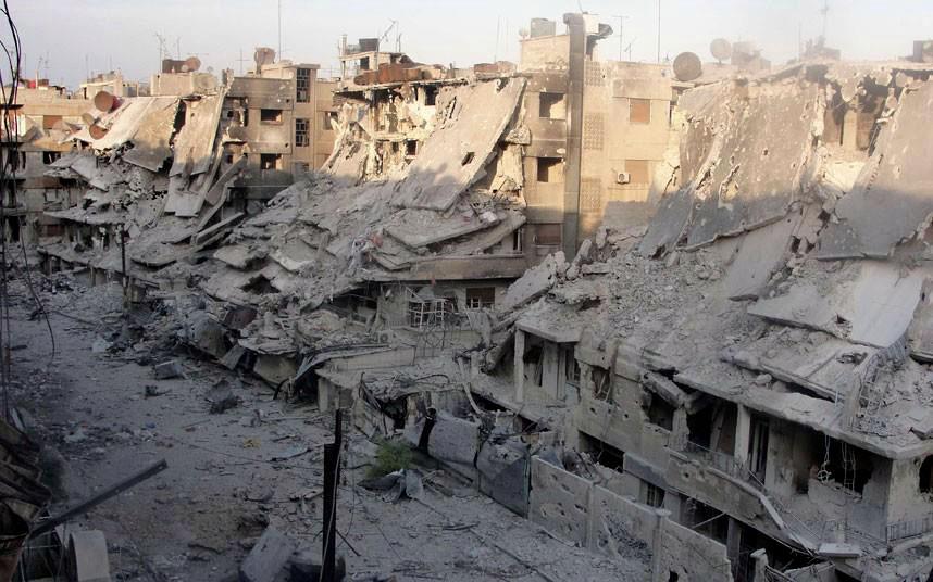 syrian civil war - 1-16
