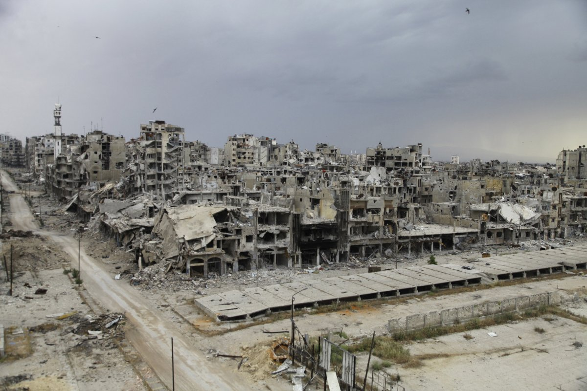 syrian civil war - 1-18