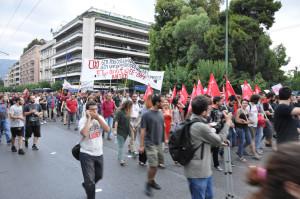 Συλλαλητήριο ΑΝΤΑΡΣΥΑ - ΜΑΡΣ - ΑΝΤΙ ΕΕ ΦΟΡΟΥΜ - ΚΙΝΗΜΑΤΩΝ 28.06.2015