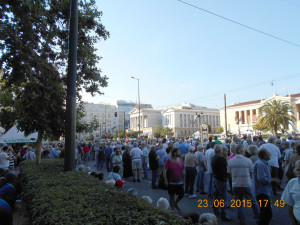 Συλλαλητήρια συνταξιούχων και ΠΑΜΕ στην Αθήνα 23.6.2015