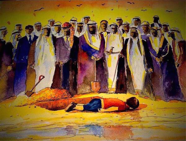 syrian-refugee-painting-gulf-states
