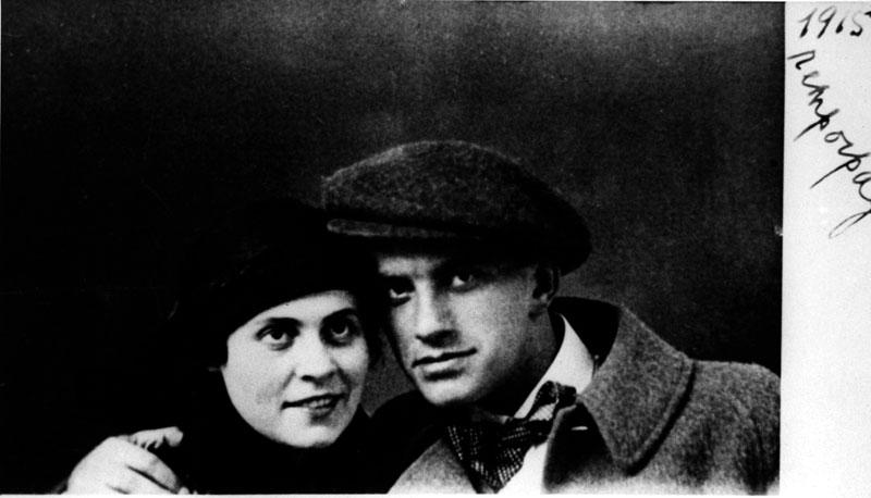 Vladimir-mayakovsky-and-ilya-brik