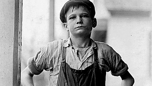 worker boy