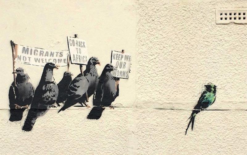 Banksy-pigeon-mural